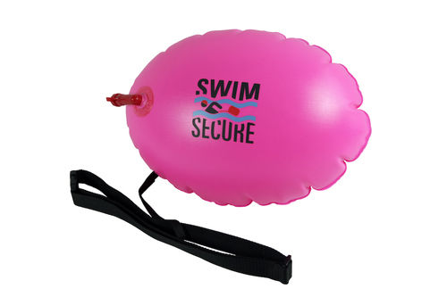 Swim Secure™ Pink Tow Float