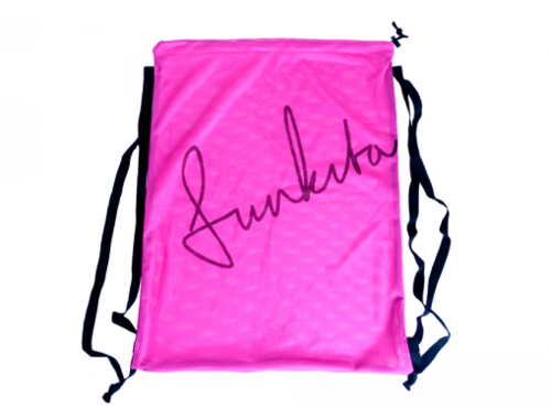 Funkita Still Pink mesh gear bag