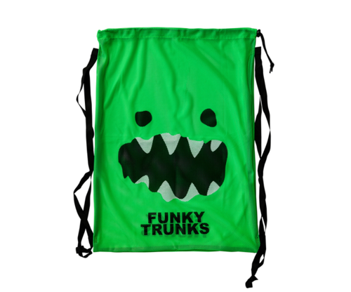 FunkyTrunks Mesh Gear Bag - Mad Monster