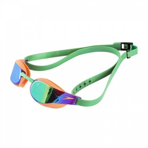 Speedo Fastskin Elite Mirror green/orange
